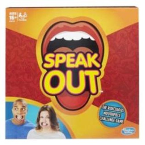 Hasbro Speak Out The Ridiculous Mouthpiece Challenge Game