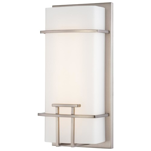 George Kovacs 20-Watt Brushed Nickel Integrated LED Wall Sconce