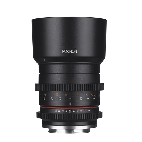 Rokinon 50mm T1.3 High Speed Cine Lens for Canon M Mount CV50M-M