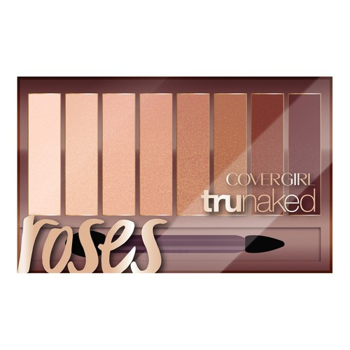 CoverGirl TruNaked Eye Shadow Palette, 815 Roses, 0.23 oz, 1 Count