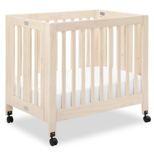 Babyletto Origami Mini Crib in Washed Natural