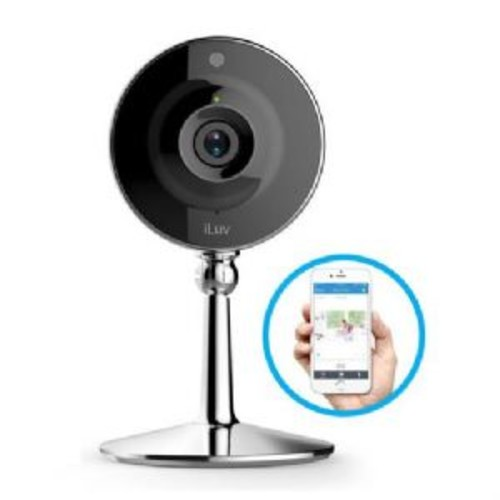 iLuv mySight Home IP Camera with Cloud Storage - Cloud Recording, High Quality 720p HD Video, Motion & Noise Detection, Two-Way Audio, 120 Field of View, 4x Digital Zoom, Night Vision - MYSIGHTUL