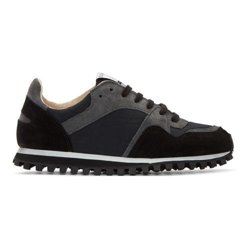 Black Marathon Trail Sneakers