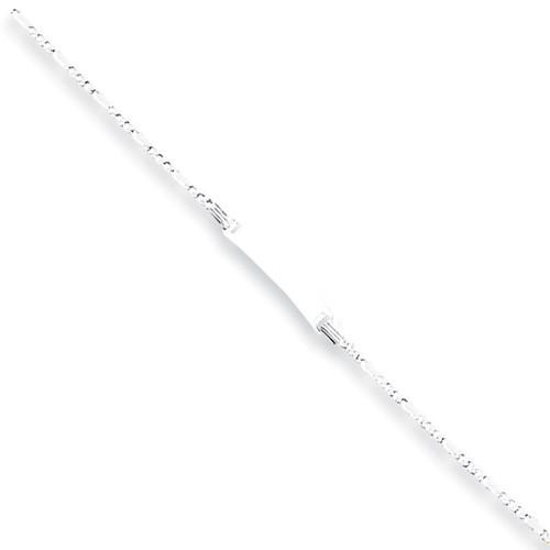 Sterling Silver Children's Id Link Bracelet