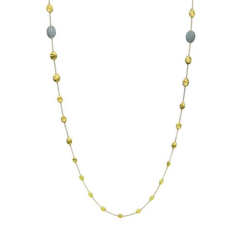 Siviglia Diamond Station Necklace, 36L