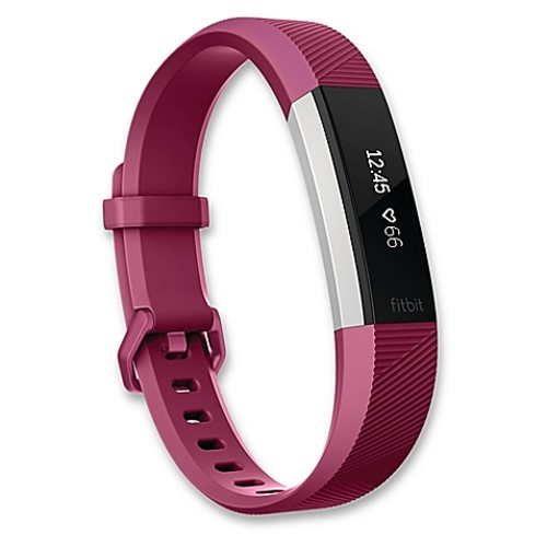 Fitbit Alta HR Large Fitness Wristband in Fuchsia