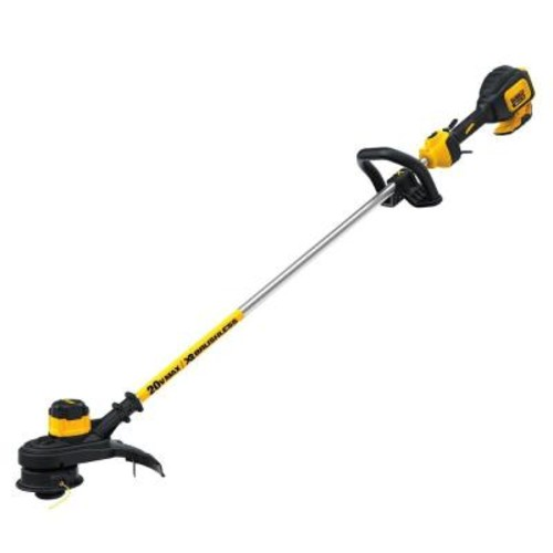 DEWALT 13 in. 20-Volt MAX Lithium-Ion Cordless Brushless Dual Line String Grass Trimmer - Battery and Charger Not Included