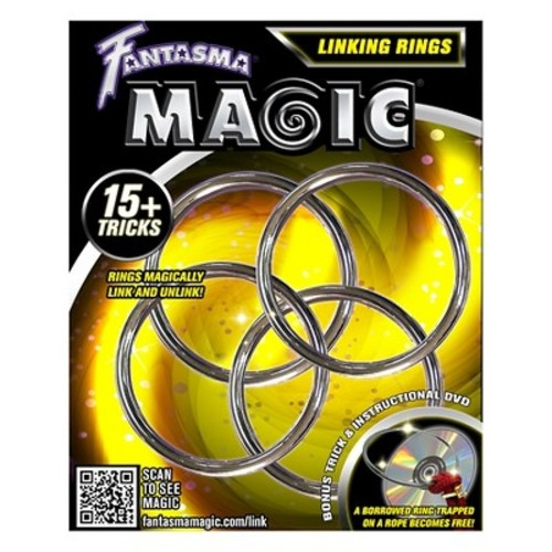 Fantasma Toys Linking Rings with DVD
