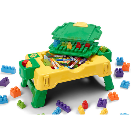 Crayola Creative and Block Play Activity Table
