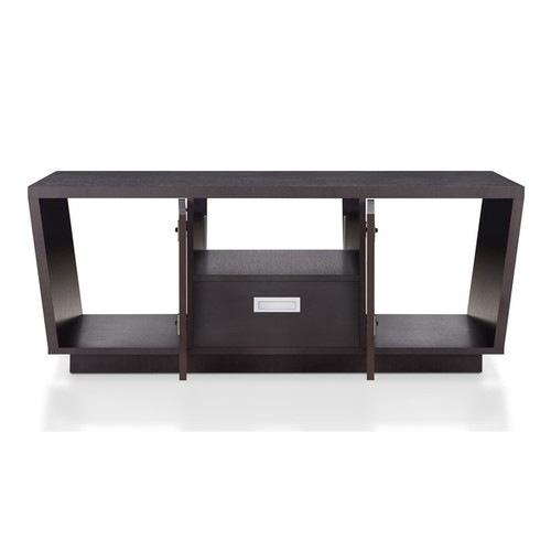 Furniture of America Melani Modern Multi-storage Espresso Coffee Table