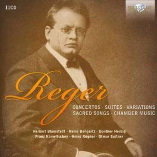 Reger: Concertos; Suites; Variations; Sacred Songs; Chamber Music By Staatskapelle Berlin (Audio CD)