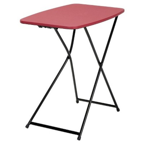 Cosco Red Adjustable 2-Pack Folding Tailgate Table