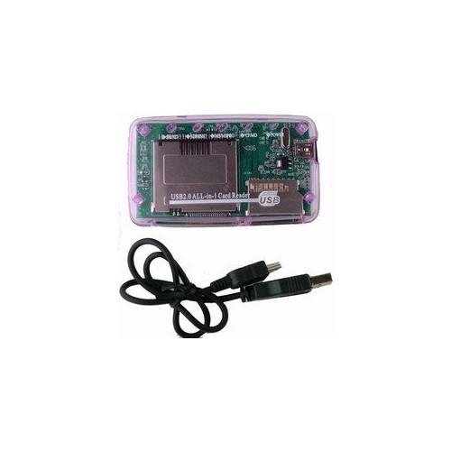 purple color USB 2.0 Reader/Writer Card