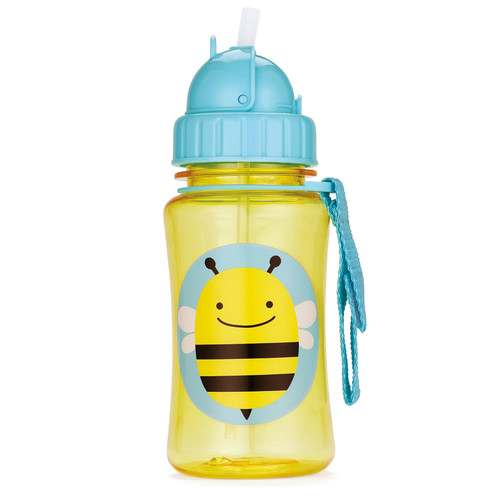 Zoo Straw Bottle - Animal: Bee