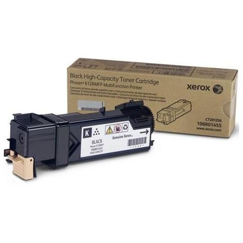 Xerox 106r01455 Toner Cartridge - Black - For Phaser 6128mfp