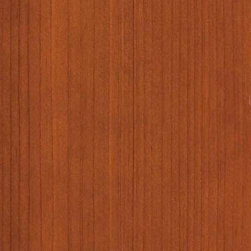 Clopay 4 in. x 3 in. Wood Garage Door Sample in Redwood with Cedar 077 Stain