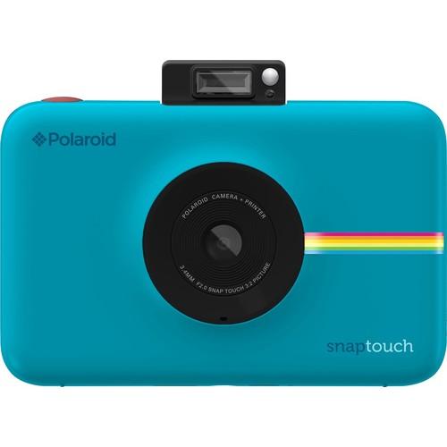 Polaroid - Snap Touch 13.0-Megapixel Digital Camera - Blue