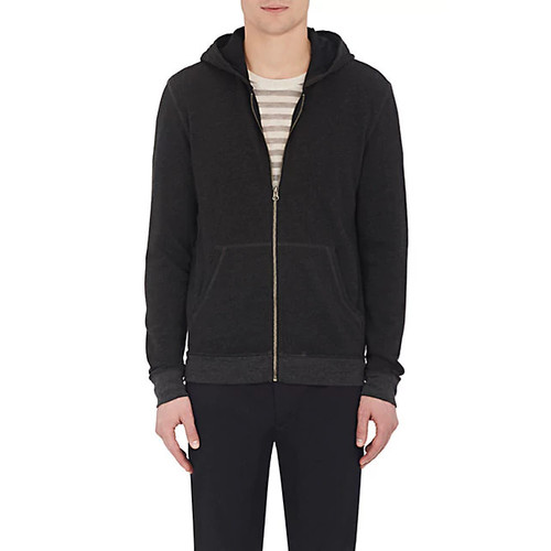 ATM Anthony Thomas Melillo French Terry Zip-Front Hoodie