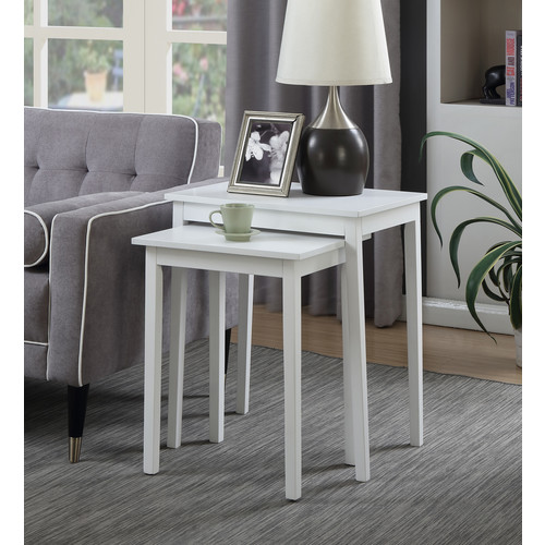 Convenience Concepts American Heritage Nesting End Tables