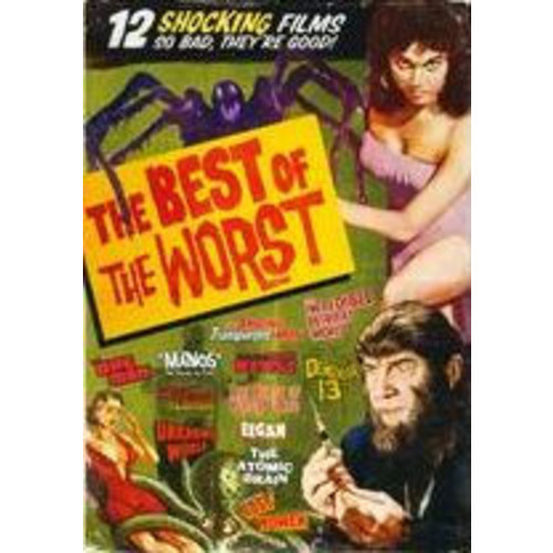 Best of the Worst: 12 Horror Movie Collection