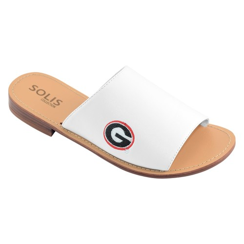 Women's Georgia Bulldogs Fashionable Slide Sandals