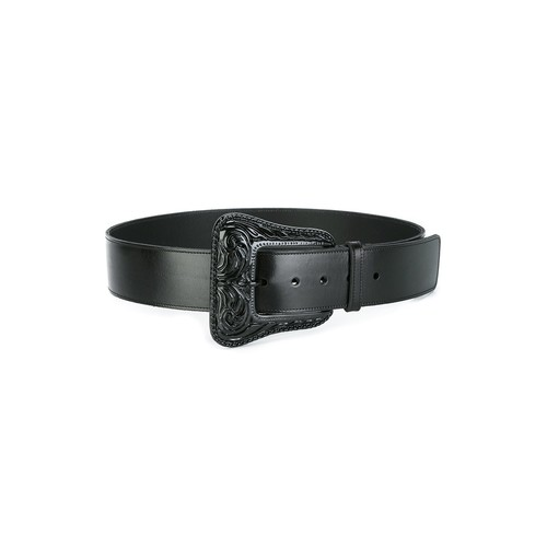 SAINT LAURENT Buckled Belt