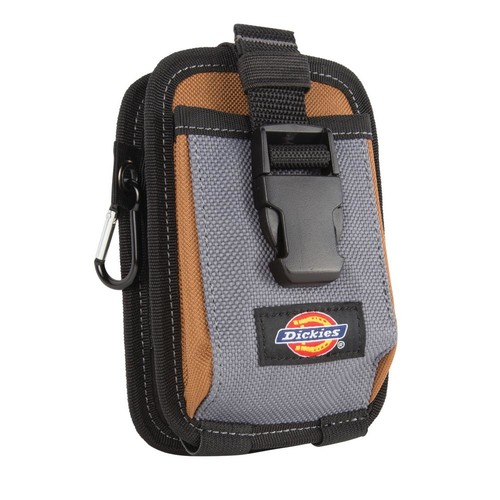 Dickies 2-Pocket Large Phone and Tool Pouch Grey / Tan