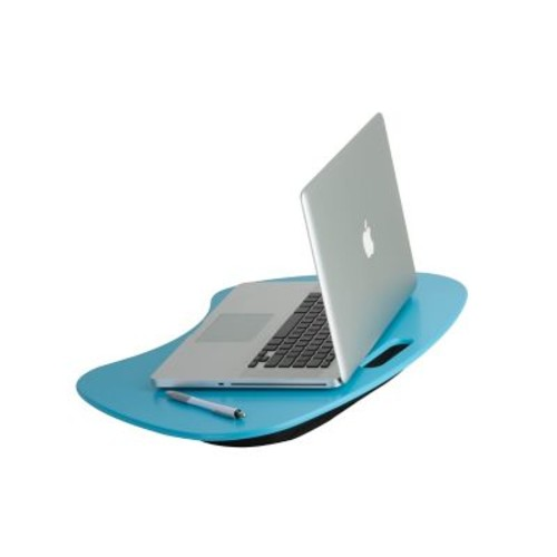 Honey Can Do Solid MDF Portable Lap Desk, Blue