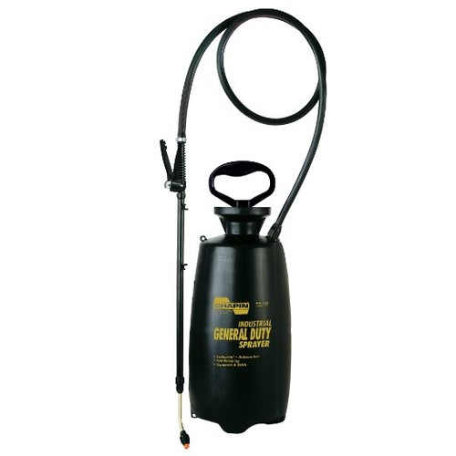 Chapin 2553E Industrial 3-Gallon Poly General Duty Sprayer For Multi-purpose Use [N/A]