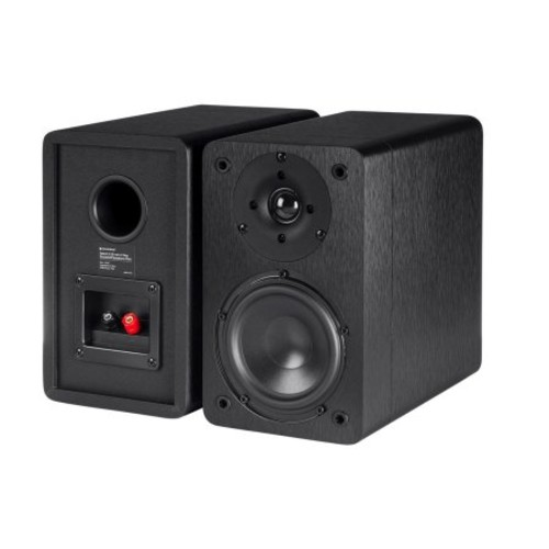 Monoprice Select 5.25-Inch 2-Way Bookshelf Speakers (Pair), Black Finish