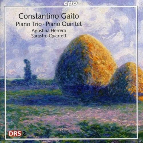 Constantino Gaito: Piano Trio; Piano Quintet [CD]