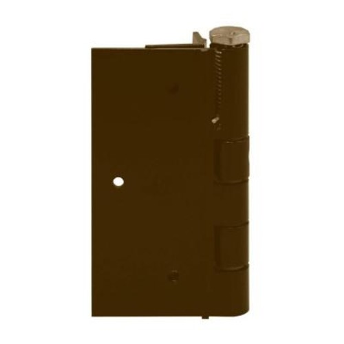 FORGERIGHT 5 in. Bronze Aluminum Self Closing Fence Gate Hinge