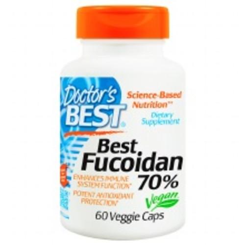 Doctor's Best Best Fucoidan 70%, Veggie Caps