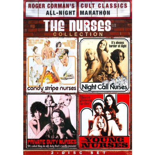 Roger Corman Cult Classics All-Night Marathon: The Nurses Collection [2 Discs] [DVD]