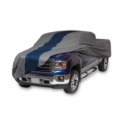 Duck Covers Double Defender Semi-Custom Pickup Truck Cover, Fits Compact Extended Cab Trucks up to 17 ft. 5 in.