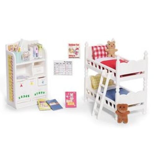 Calico Critters Children's BEDROOM SET W BUNKBEDS