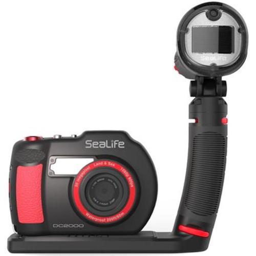 Sealife DC2000 Pro Flash Set: DC2000 UW Camera & Sea Dragon Universal Flash Head