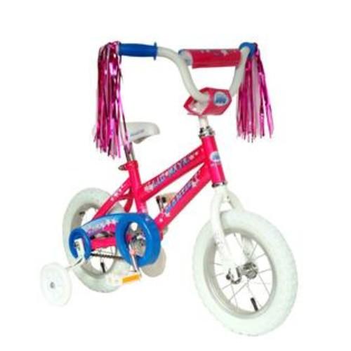 Mantis Girls 12 Inch Lil Maya Bicycle w Training Wheels