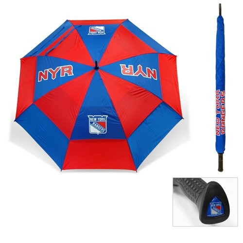 Team Golf New York Rangers 62 Double Canopy Umbrella