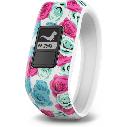 Garmin vivofit jr. (Real Flower) Water-resistant youth activity tracker