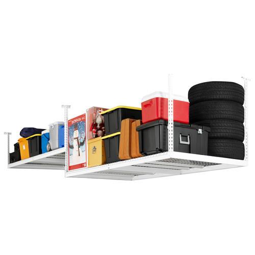Age Products Adjustable Ceiling Shelving Unit [finish-white]