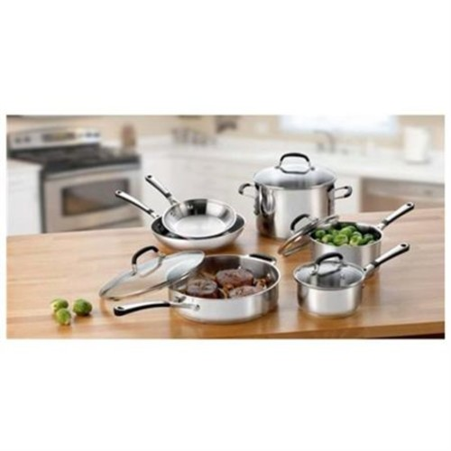 Calphalon 10-pc. Stainless Steel Simply Calphalon Stainless Cookware Set