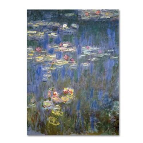 Trademark Fine Art 'Water Lilies IV 1840-1926'