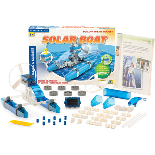 Thames & Kosmos Solar Boat Science Experiment Kit