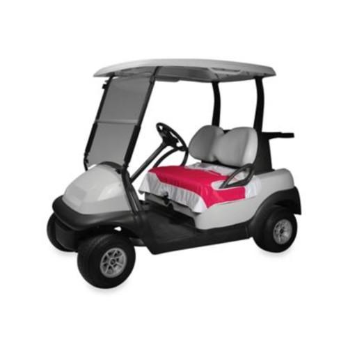 Golf Cart Seat Blanket in Pink