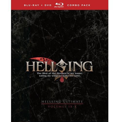 Hellsing Ultimate: Volumes IX & X (Blu-ray + DVD) (Japanese) (Widescreen)