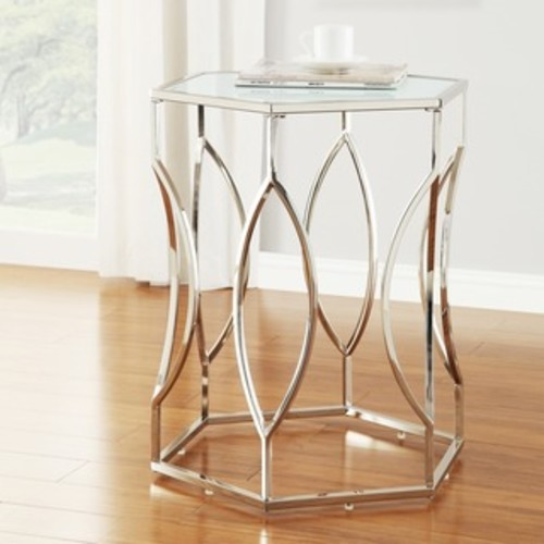 Clear Molli Side/ Accent Tables (Set of 2)