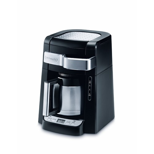 DeLonghi DCF2210TTC 10-Cup Thermal Carafe Drip Coffee Maker, Black