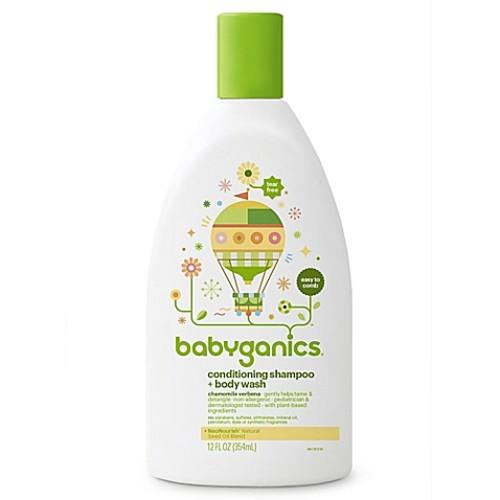 Babyganics 12 oz. Conditioning Shampoo + Bodywash in Chamomile Verbena