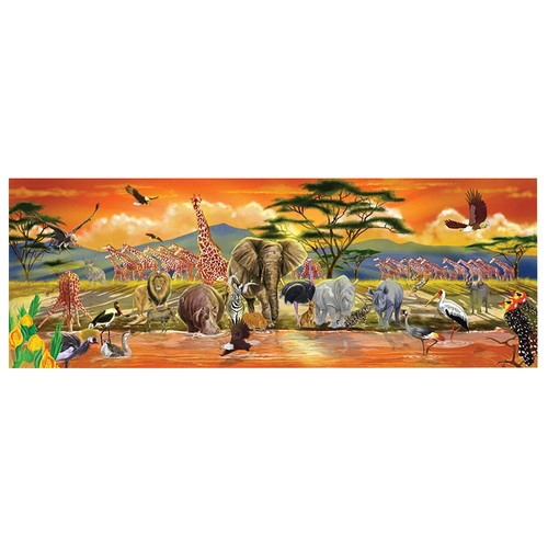 Melissa & Doug African Plains Safari Jumbo Jigsaw Floor Puzzle